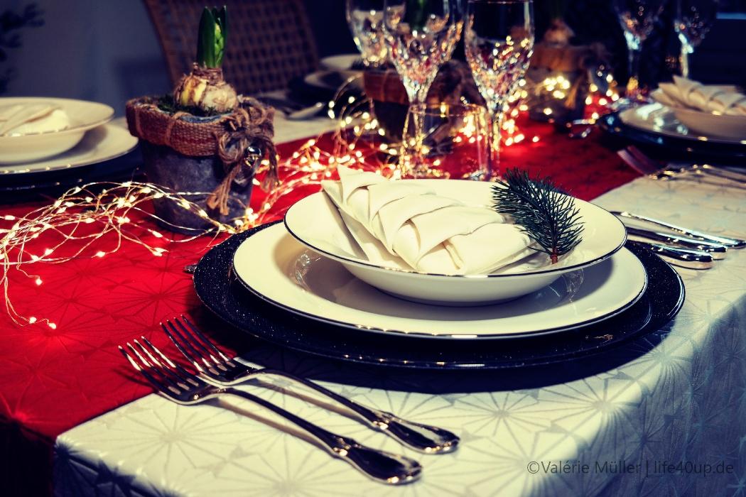 hervorragend Weihnachtstafel Festlich Part - 11: Die besten Tipps für eine festliche Weihnachtstafel, sowie ein gut  gehütetes Familiengeheimnis | Life40up!